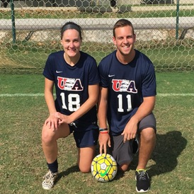 Cappuccitti and Jacobson Compete in Brazil for USA D-3 Soccer Tour