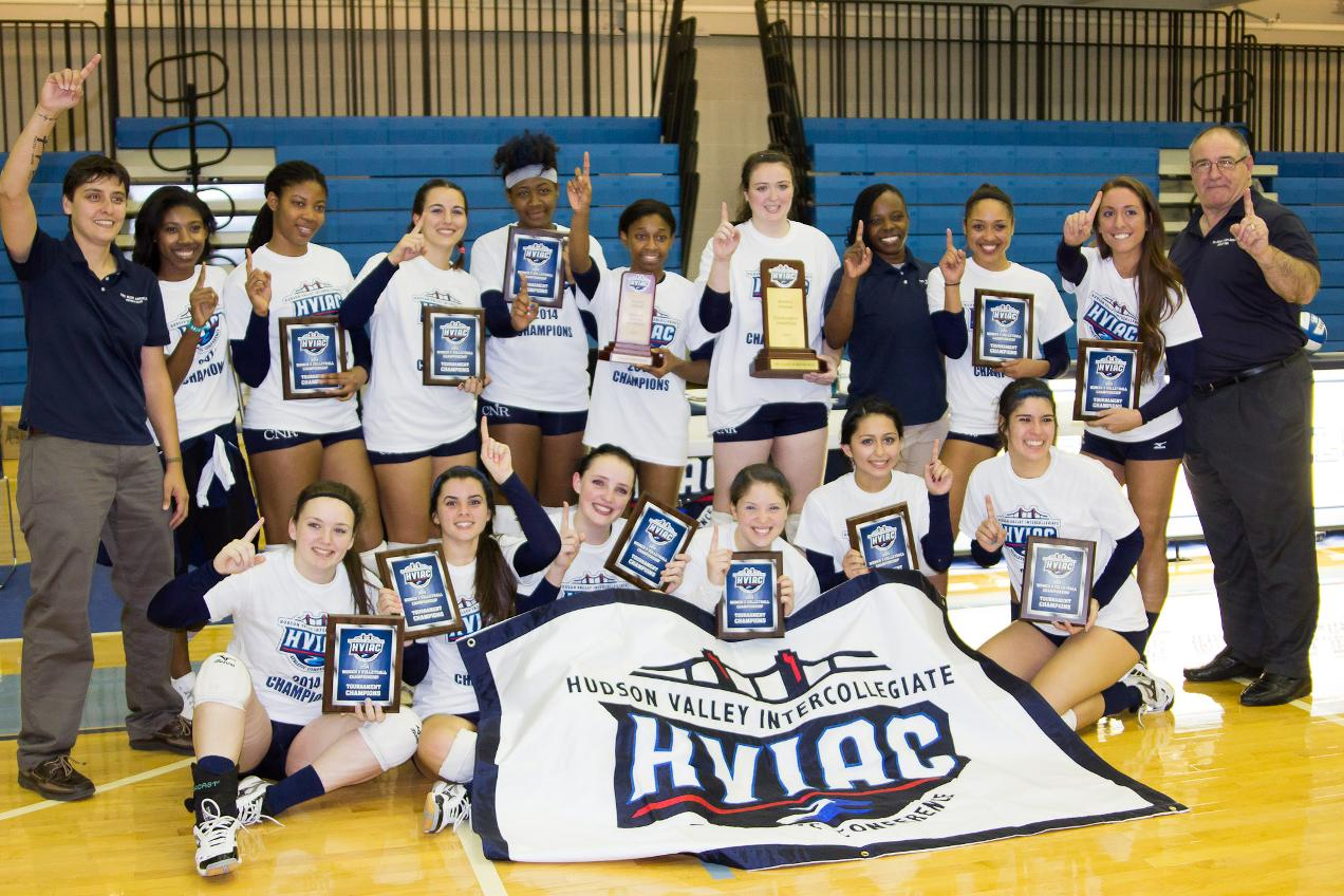 New Rochelle Outlasts Pratt to Win Second Straight Women's Volleyball Title