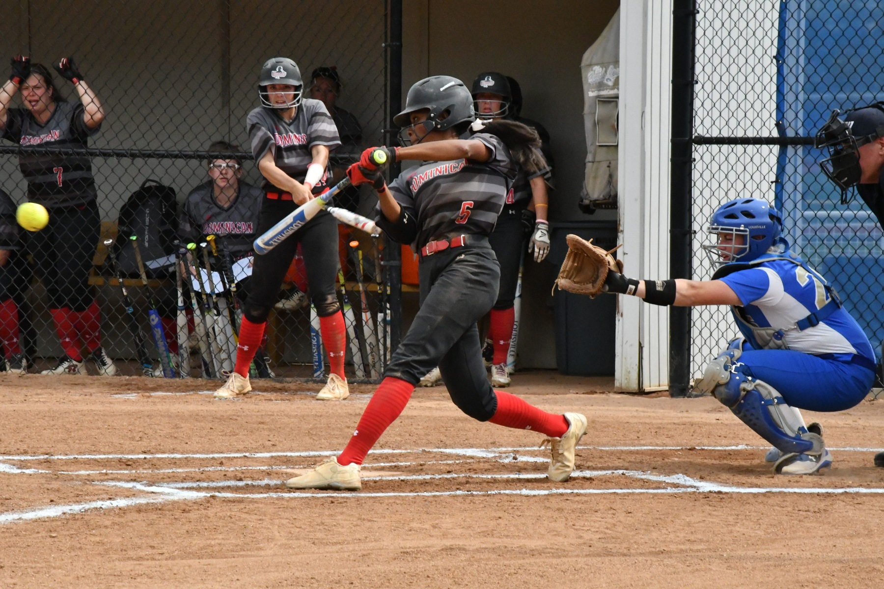 SOFTBALL SPLITS DH WITH NYACK