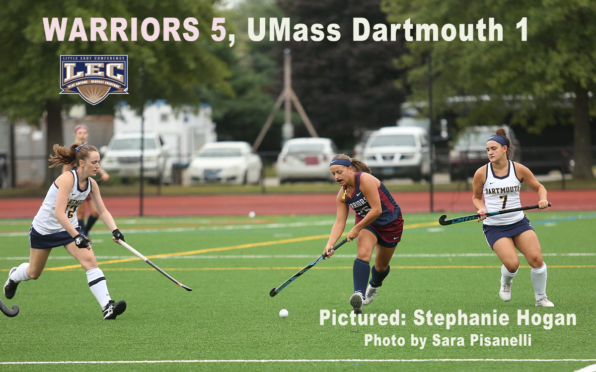 Field Hockey: Warriors Make Statement in Little East Opener With Decisive Victory