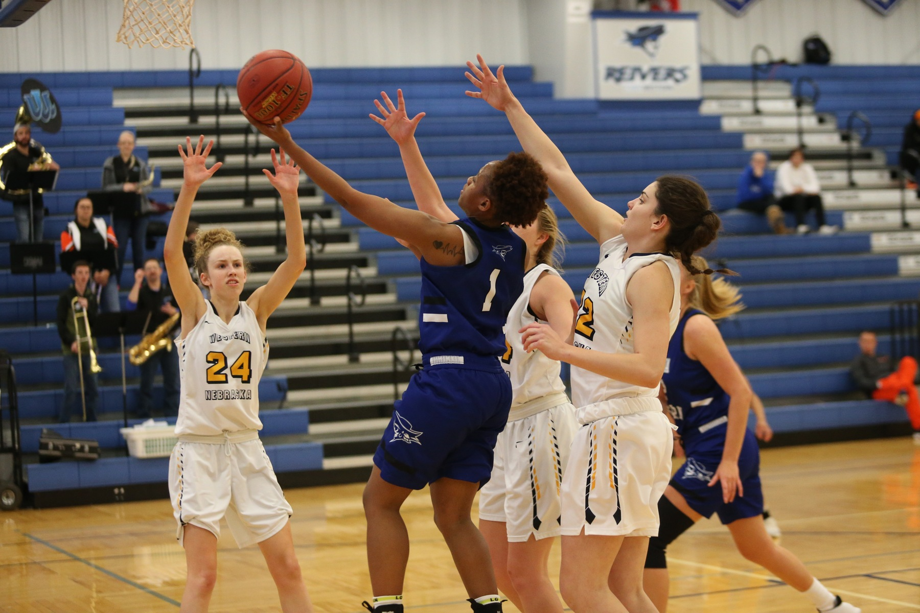 Reivers protect home court in OT win