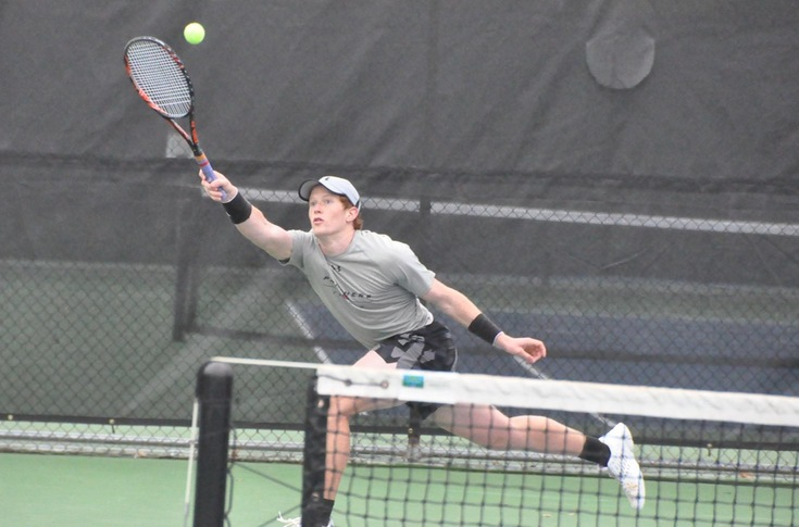 Men's Tennis: Panthers upset three-time defending NJCAA Division III champion Emory-Oxford
