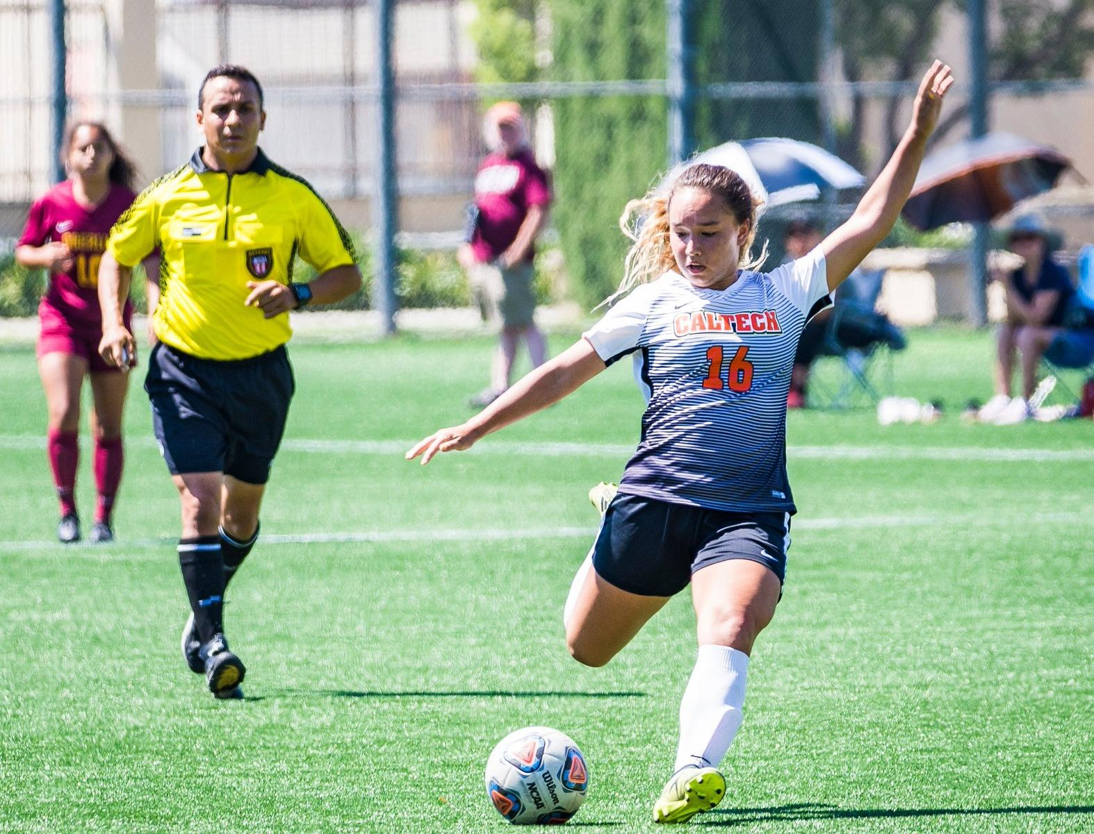 Women's Soccer Nabs First-Ever NCAA Win