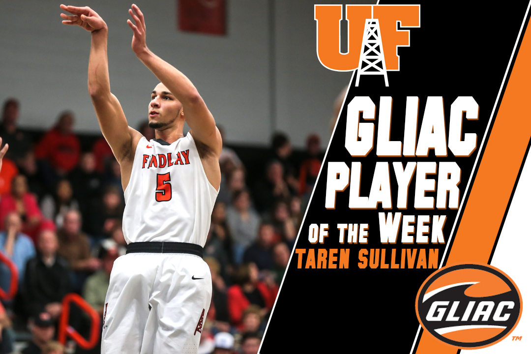 Sullivan Earns 3rd GLIAC Player of the Week Award