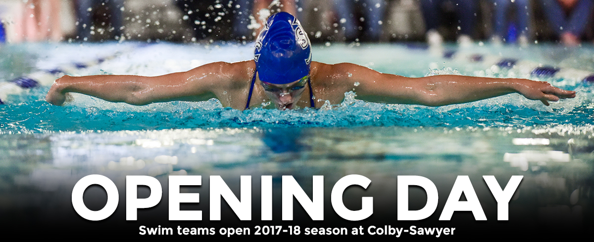 Swimming Opens Season at Colby-Sawyer
