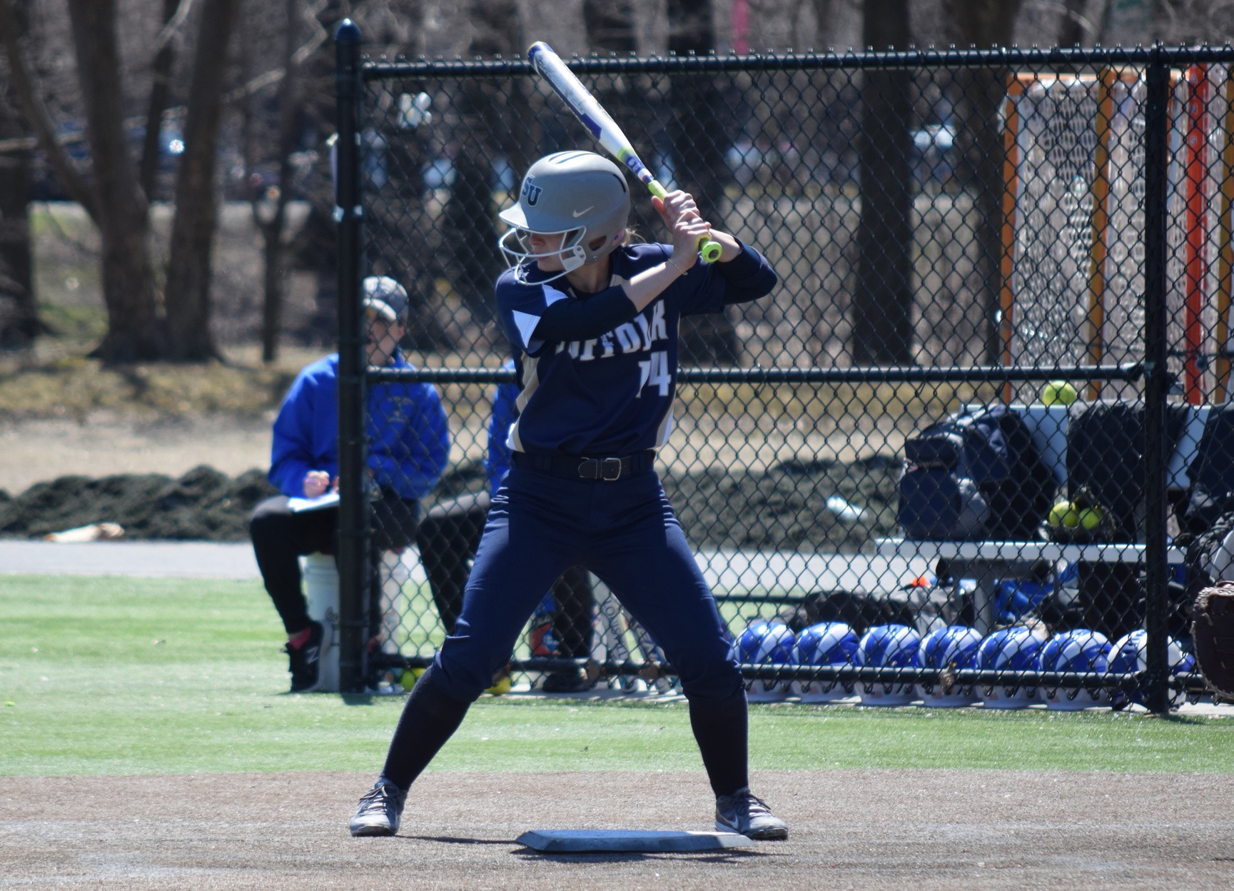 Double Up: Softball Takes Two at Rivier