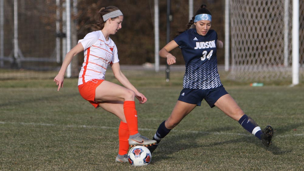 Women's soccer defeated 4-0 by Judson in NCCAA regional contest