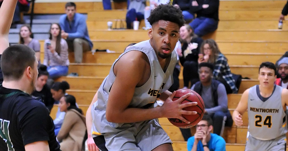 Hot Shooting Second Half Enables Men's Basketball to Rally Past Western New England