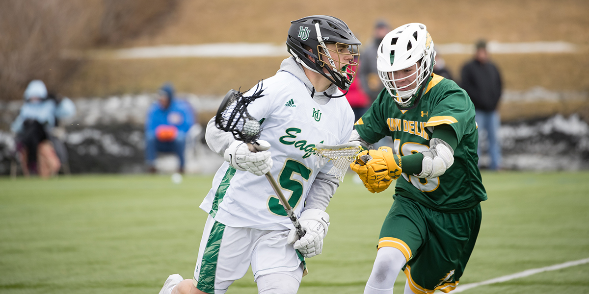 Men's Lacrosse Falls to SUNY Canton in a Back and Forth Game, 16-13