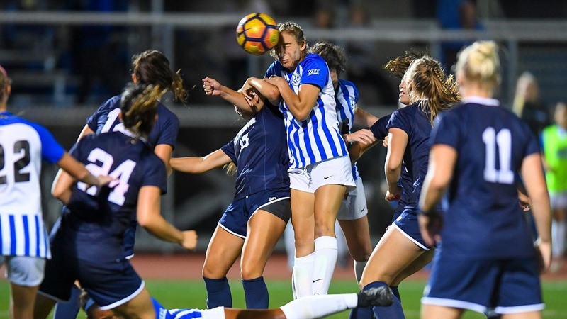 Covello and Inzerillo Score in Central's 2-1 Win Over Maine