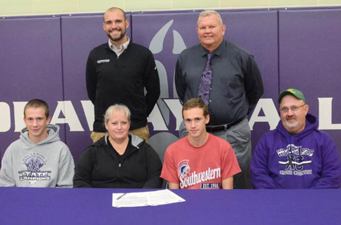 Nodaway Valley's Breheny to become a Spartan