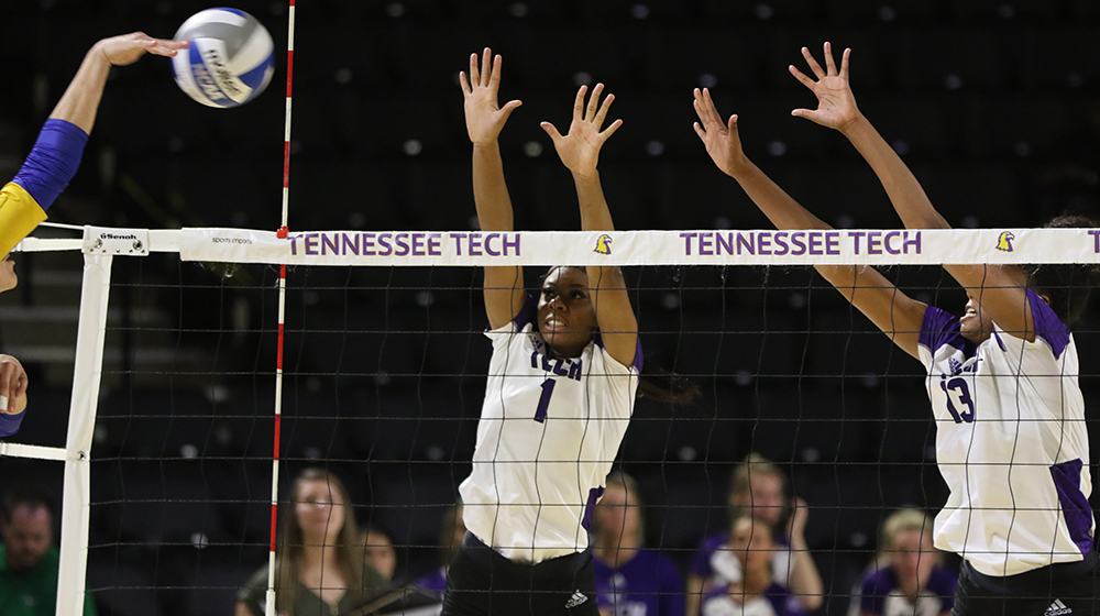 Tech battles to four set loss at Morehead State