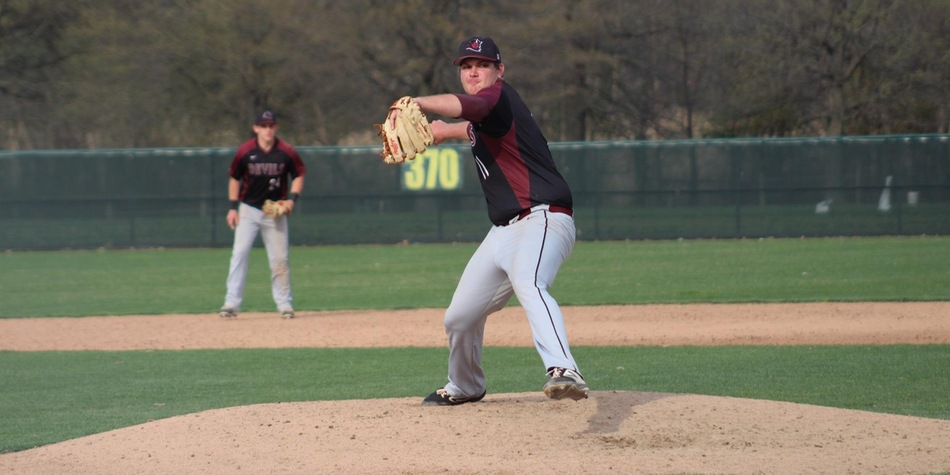 Johnson's Five Hitless Relief Innings Salvage Baseball's Doubleheader Split with Goldey-Beacom