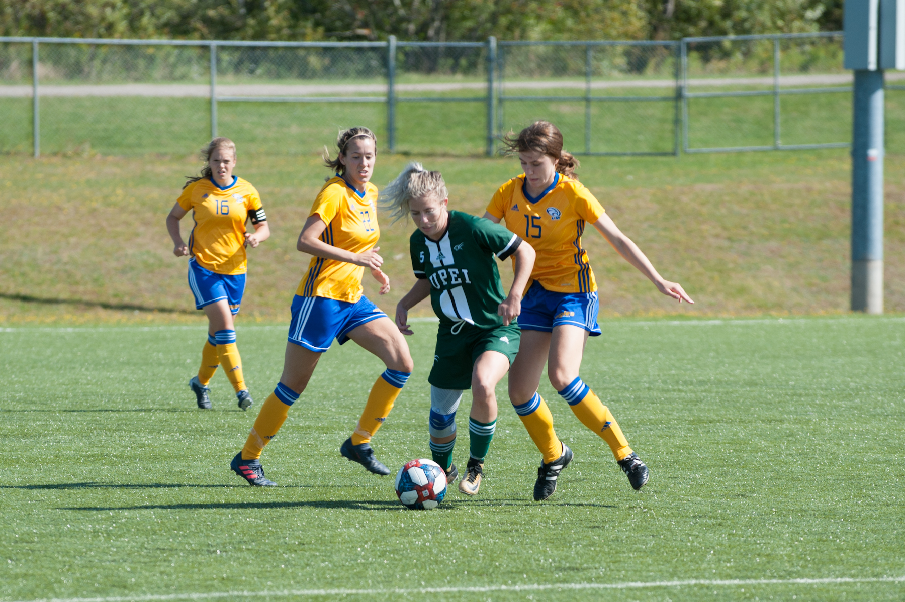Rookie Brockbank leads Aigles Bleues past Panthers 2-1