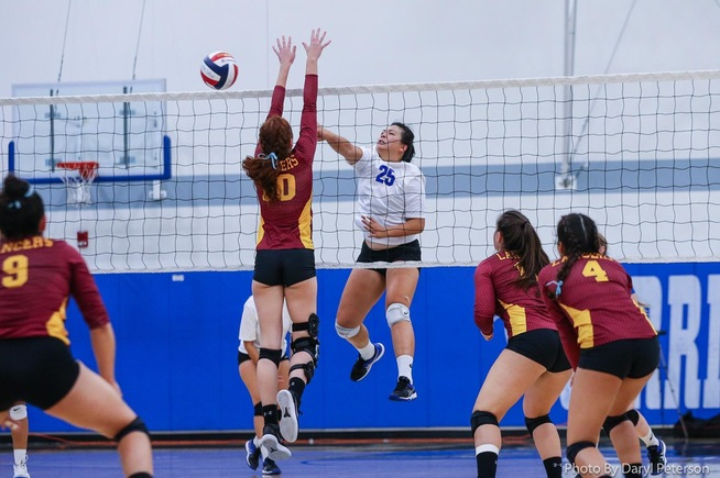 File Photo: Jody Suski recorded 11 kills in the Falcons win
