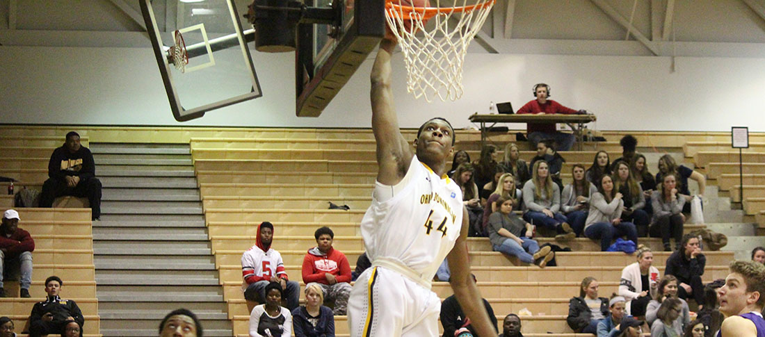 Men's Basketball Holds Off Lake Erie 82-77 In Season Finale