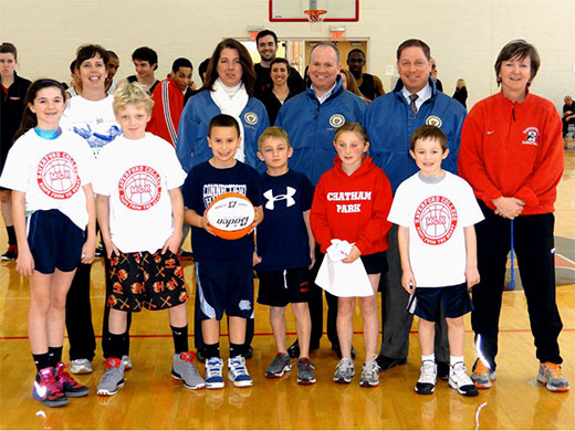 Haverford earns NADIIIAA/Jostens Community Service Award for Hoops from the Heart