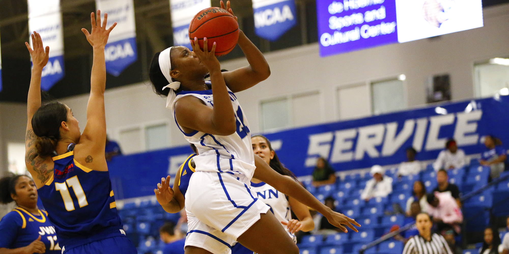 Fizer Named SSC Women's Basketball Defensive Player of the Week