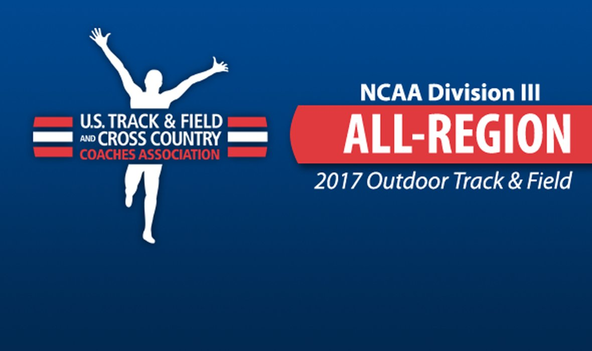 All-Region Honorees For 2017 NCAA DIII Outdoor Track & Field Announced