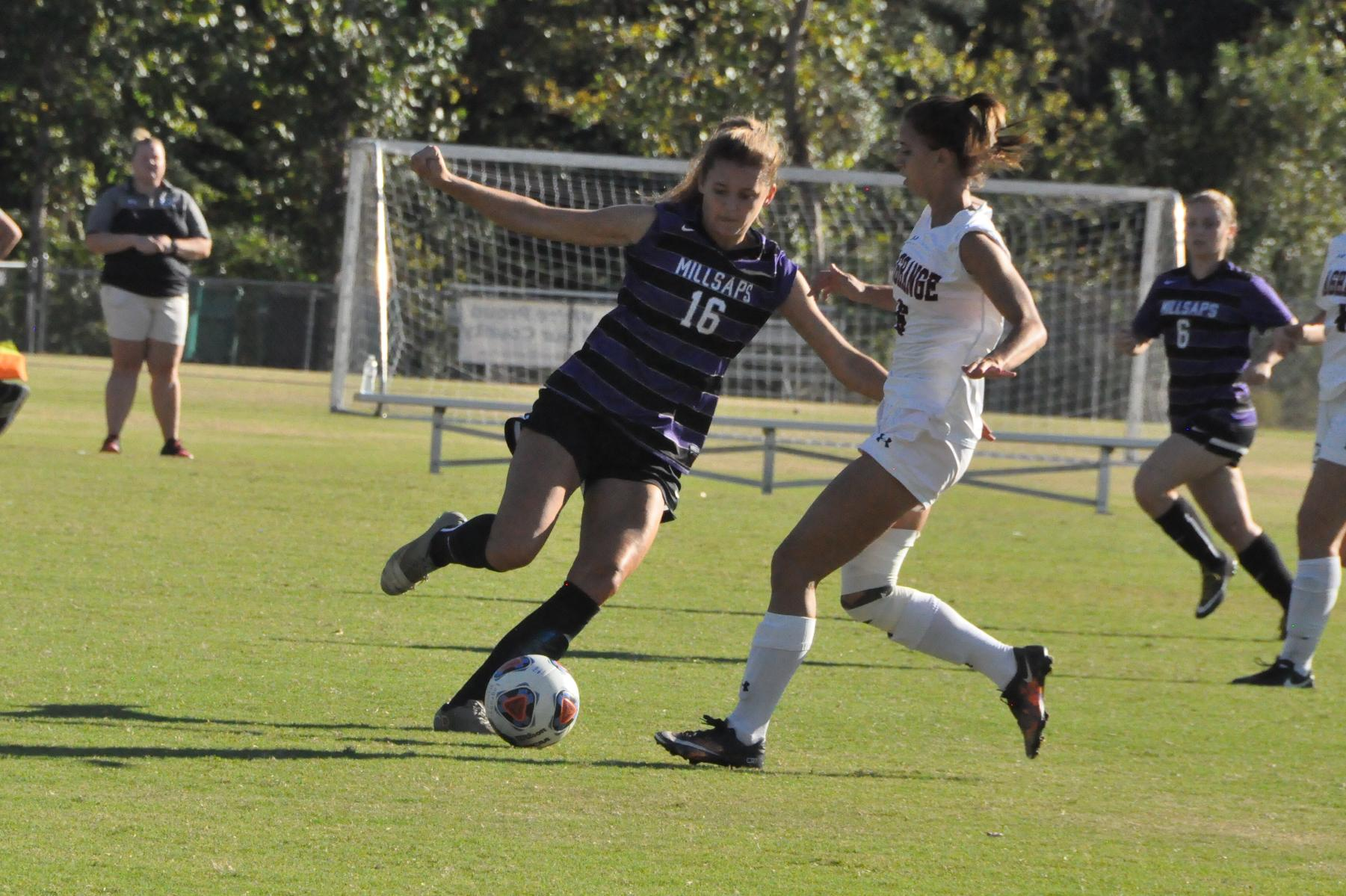 2016-17 Review/Women's Soccer: Panthers get goals from three players in win against Millsaps