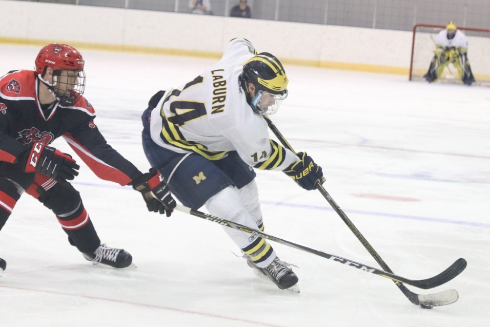 No. 7 Wolverines Split Two OT Contests at Kent State