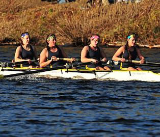 Crew Posts Second Straight Solid Performances On Lake Quinsigamond At Clark Regatta