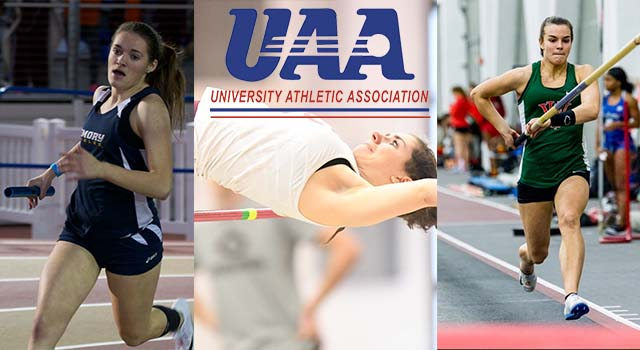 UAA Announces 2018 UAA Women's Indoor Track and Field Awards