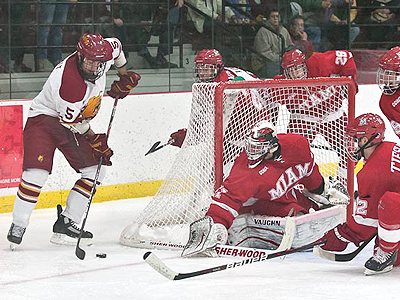 #14 Ferris State Hockey Sweeps #10 Miami