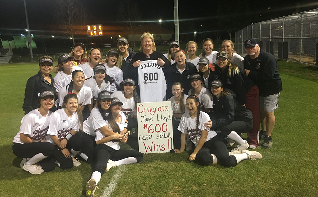 Lloyd gets 600th win with run-rule of Redlands