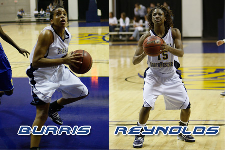 Burris, Reynolds receive tourney honors