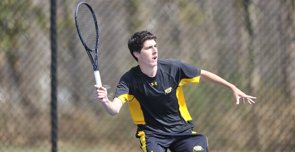 Men's Tennis Rallies, But Falls, 4-3, to Stony Brook in America East Tournament