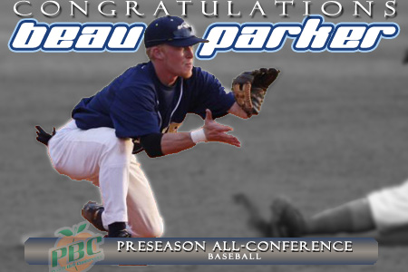 Parker named Preseason All-Conference