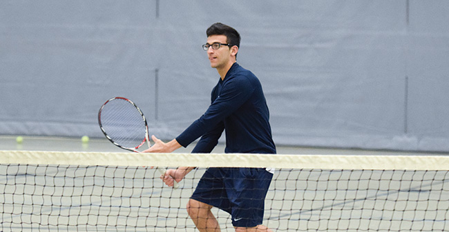 Greyhounds Drop Match at Juniata in Landmark Conference Action