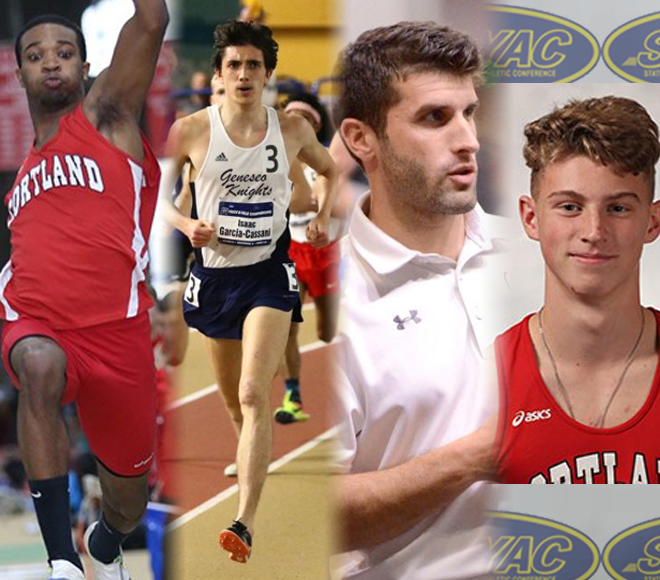 SUNYAC announces Men's Indoor Track and Field Awards