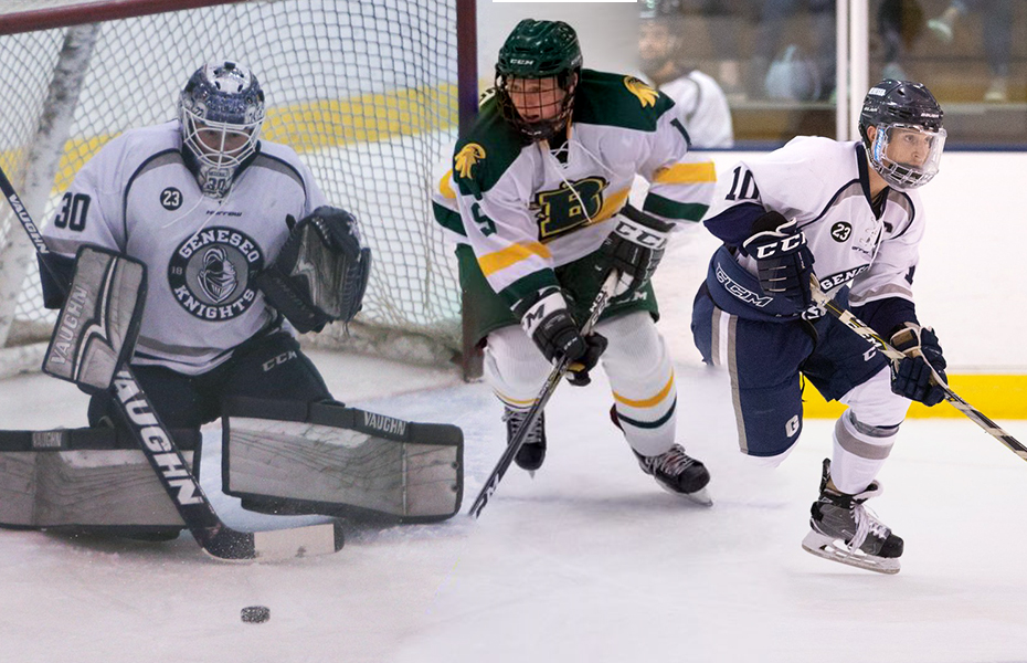 SUNYAC Men's Ice Hockey Athletes of the Week released