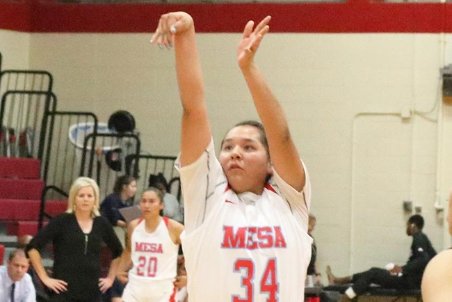 #2 Mesa Women's Basketball Heading for 10th Straight Region I Championship Game with Victory Over South Mountain, 61-36