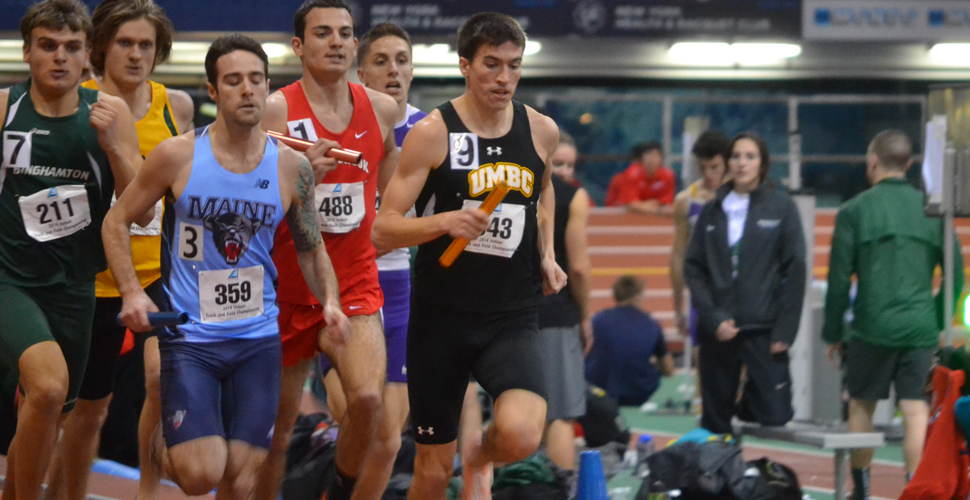 Jackson Sweeps 60m and 200m Events as Both Retriever Squads Finish Fifth at America East Indoor Championships
