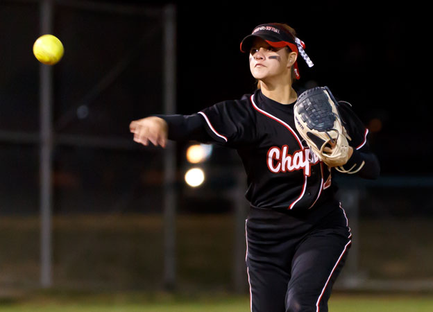 Pioneers sneak up and earn a split from Chapman