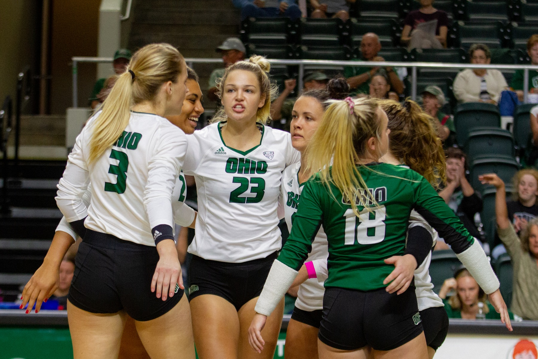 Ohio Volleyball Falls to Bowling Green in MAC Opener