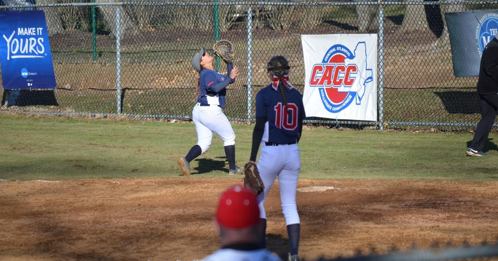 Women's Softball Splits With East Stroudsburg Warriors