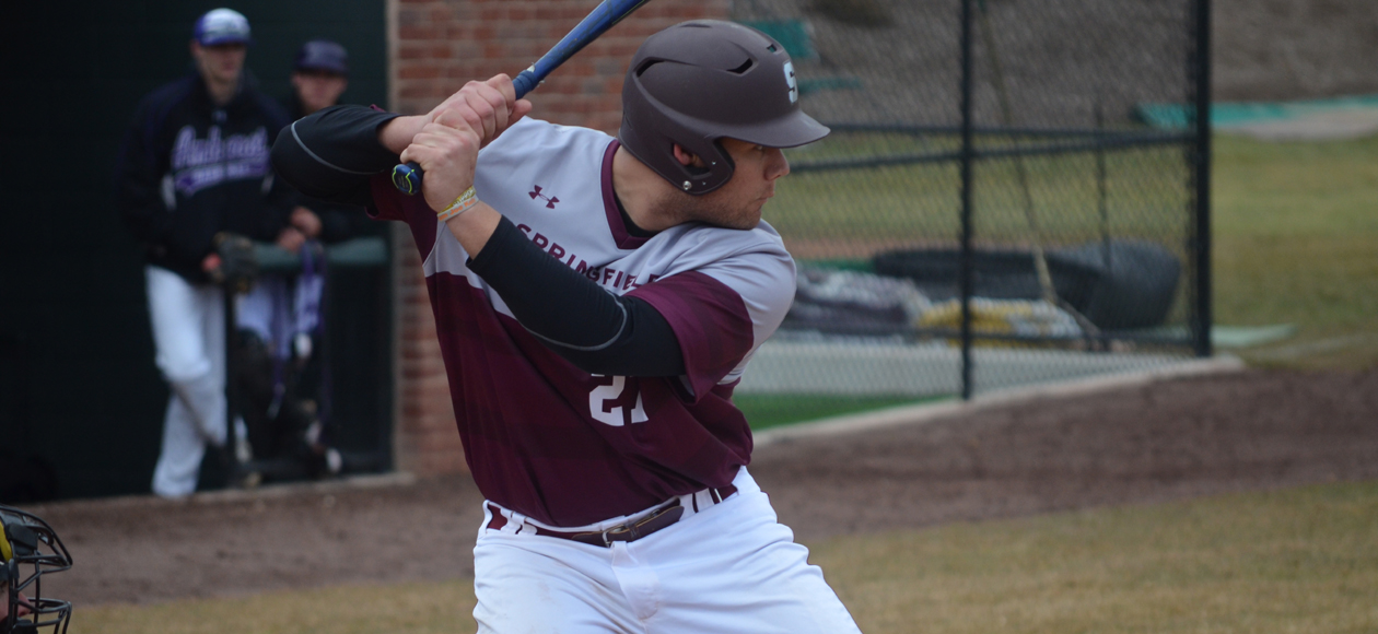 Drabinski Forces Extra Innings With Late Solo Home Run; Baseball Falls to Wheaton, 4-3, in 12