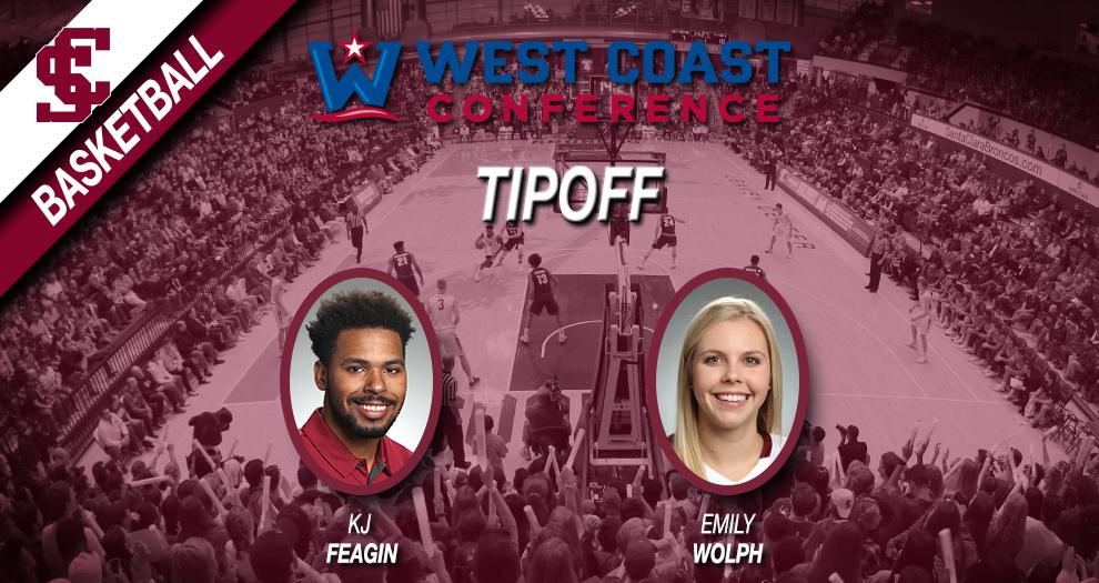 Men's and Women's Basketball Set for WCC Basketball Tipoff