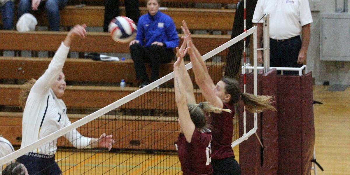 Evangel Volleyball stumbles In Heart Quarters in 3-2 Loss to Mount Mercy