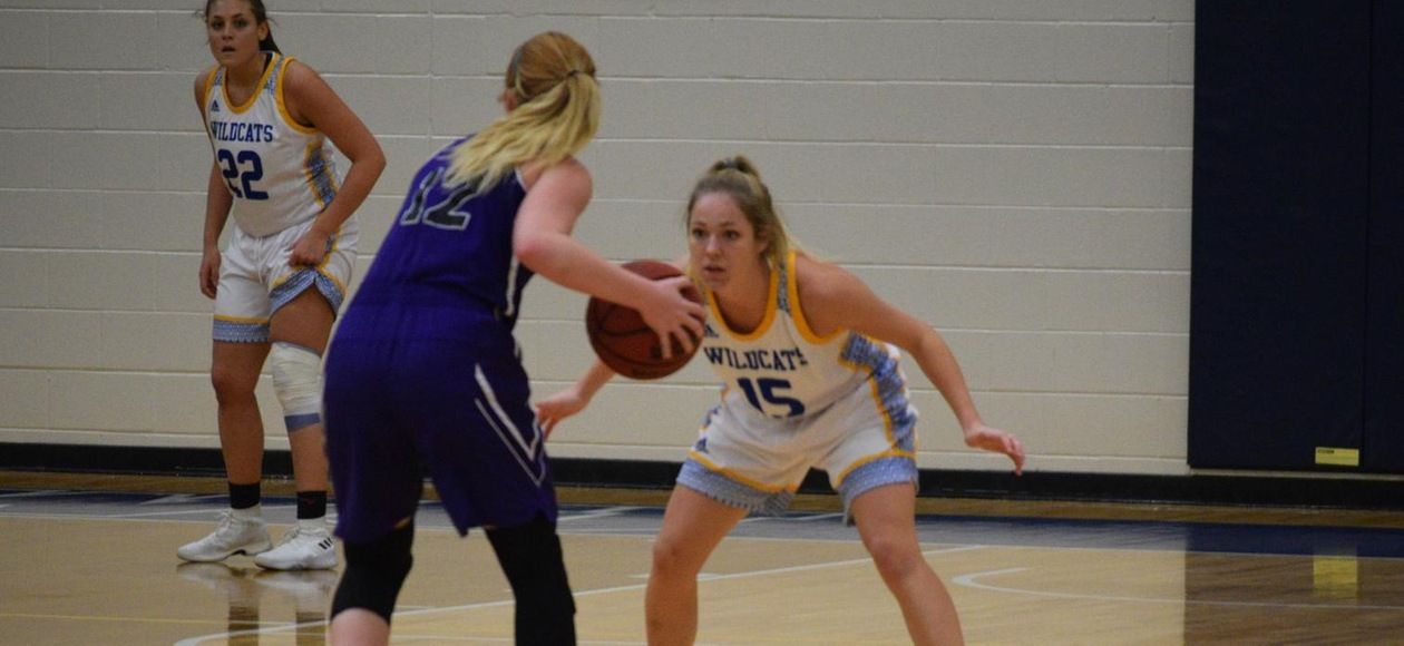 Women's Basketball Loses 64-57 at Saint Joseph's