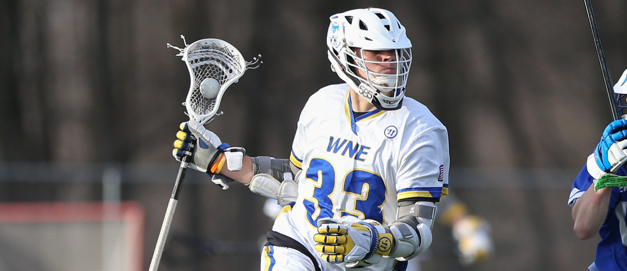 Tim Breau recorded three points in Western New England's 19-7 loss to No. 8 Williams on Wednesday. (Photo by Chris Marion)