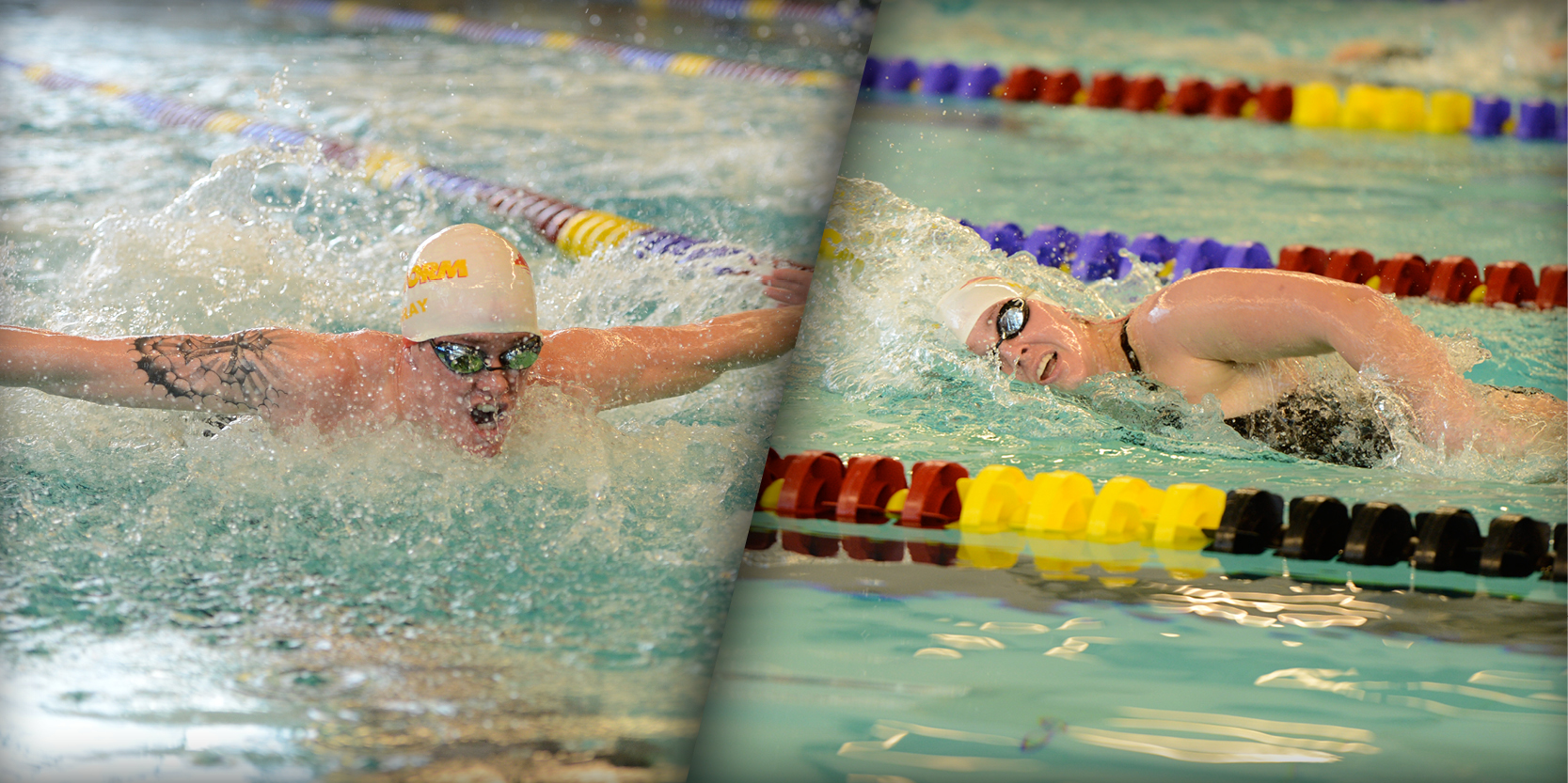 Swimmers turn in record-setting performances at Grinnell