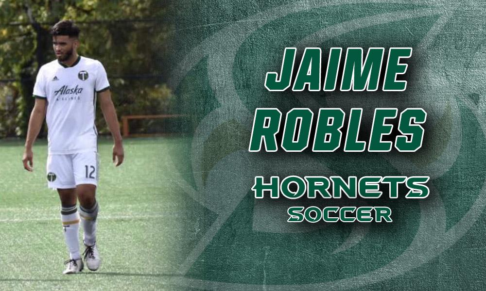 MEN'S SOCCER SIGNS JAIME ROBLES TO NLI FOR SPRING