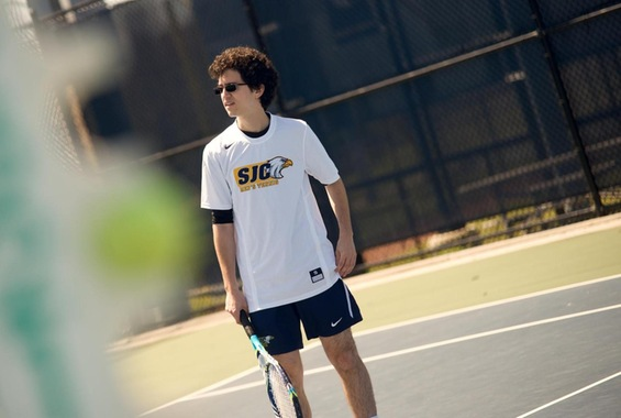 Men's Tennis Sweeps York for First Win of the Season