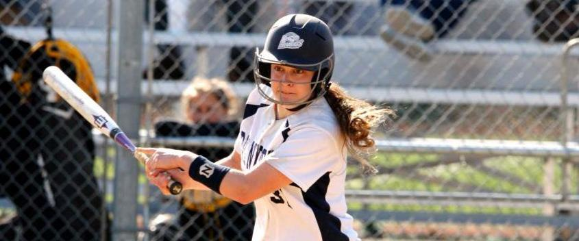 Amanda Genovese '15 is the second All-American in softball program history (photo by Sportspix/Mike Broglio)