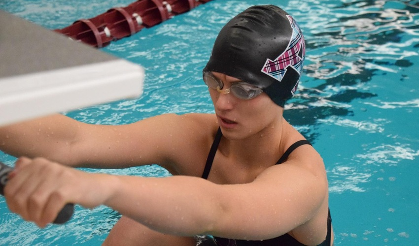 Swimmers Compete in Day One of MIAA Championships
